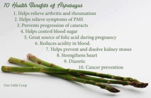 Asparagus Austin Chiropractic - Dr. James Lee