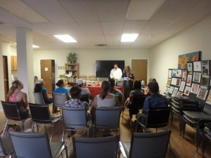 raw food class at peoples rx - austin chiropractic - Dr. James Lee