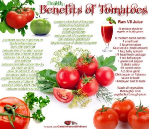 Tomatos - Austin Chiropractic - Dr. James Lee